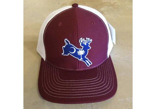 Dixie Fowl Dixie Fowl White Tail Hat Garnett/White