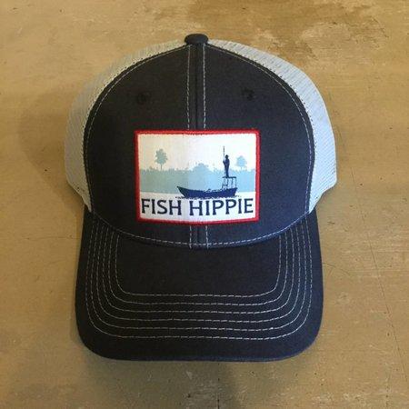 Fish Hippie Flats Dream Hat Navy