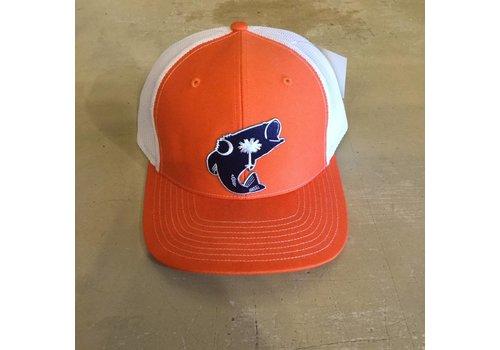 Dixie Fowl Dixie Fowl Bass Hat Orange/White
