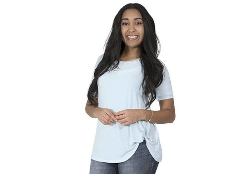 Simply Southern Simply Southern Sky Blue Fashion Top