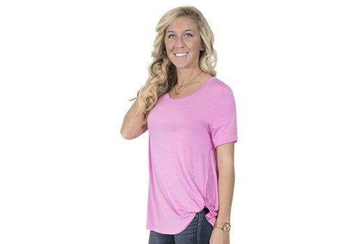 Simply Southern Simply Southern Pink Fashion Top
