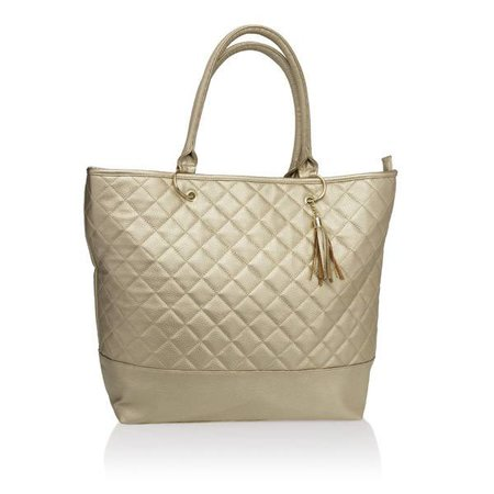 City Tote Gold