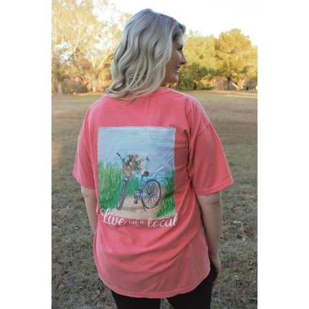Live Like a Local Watermelon Short Sleeve T-Shirt