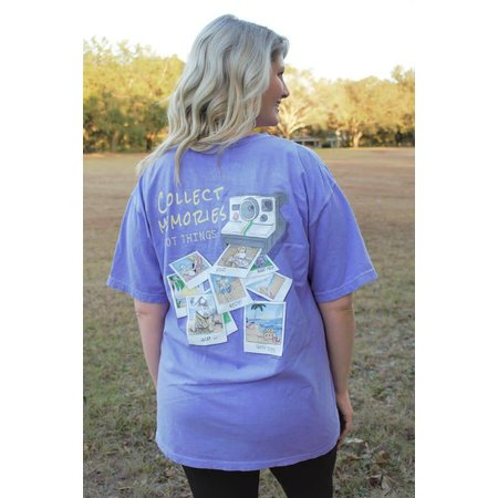Memories Violet Short Sleeve T-Shirt