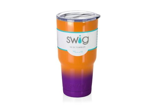 Swig Swig 30oz Tumbler Orange|Purple