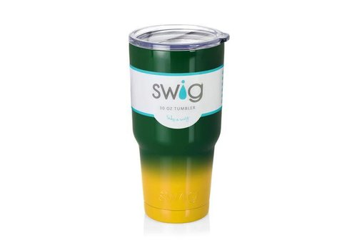 Swig Swig 30oz Tumbler Green|Yellow