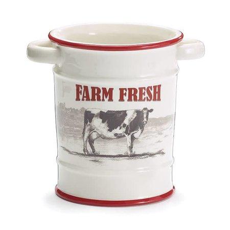 Utensil Canister Farm Fresh