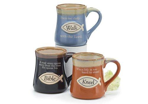Mug Oorcelain Religious