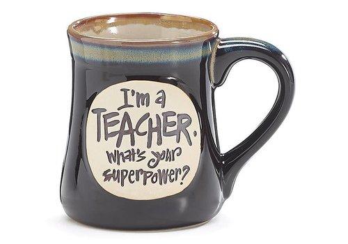 Mug Superpower Teacher Message