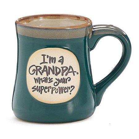 Mug Superpower Grandpa Msg