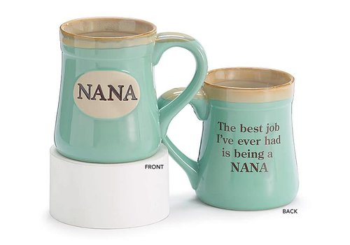 Mug Porcelain Nana Mint Green
