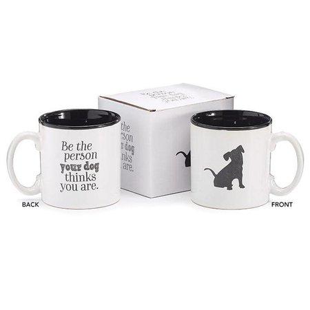 Mug 13 oz Dog Be The Person