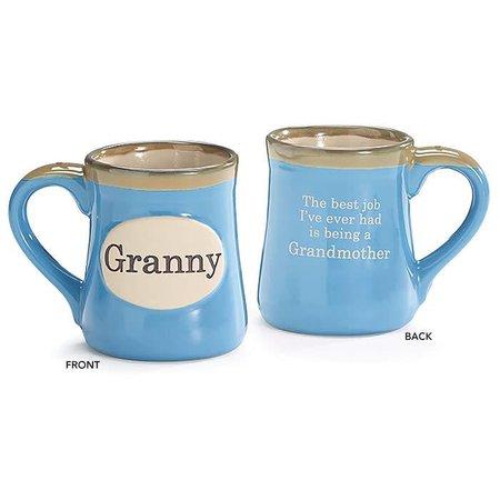 Mug Granny The Best Job I've