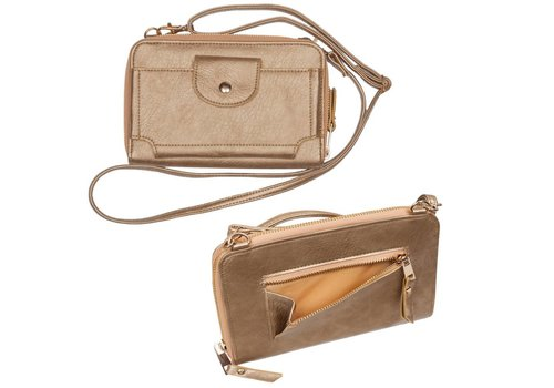 "Wellington 8.25"" x 5.25"" Crossbody Wallet"