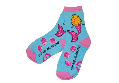 Simply Southern Simply Southern Mermaid Socks