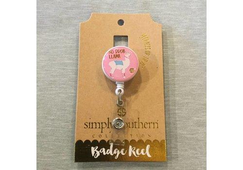 Simply Southern Simply Southern Lanyard Badge Reel Probllama