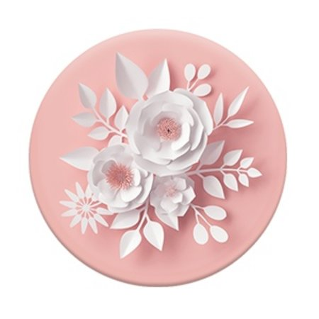 Paper Flower Pop Socket