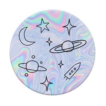 Space Doodles Pop Socket