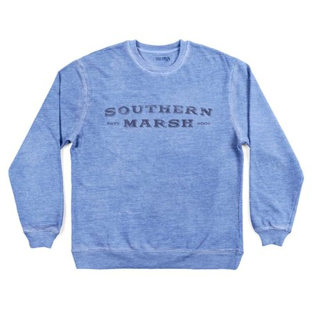 Southern Marsh Rally Sweatshirt Blue