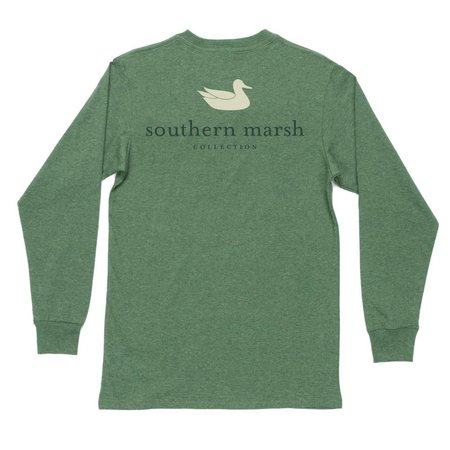 Southern Marsh LS Authentic Hunter Green Youth