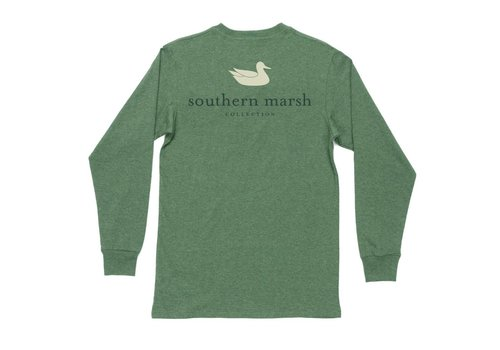 Southern Marsh Southern Marsh LS Authentic Hunter Green Youth