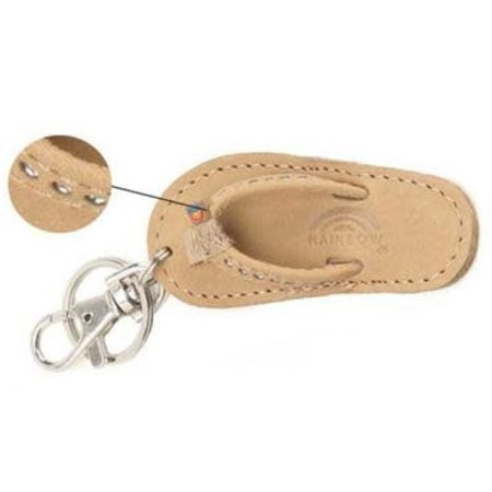 Sandal Crystal Key Chain Sierra Brown