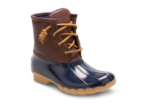Sperry Kids Sperry Topsider Saltwater Boot Youth Navy