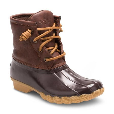 Topsider Saltwater Boot Youth Brown