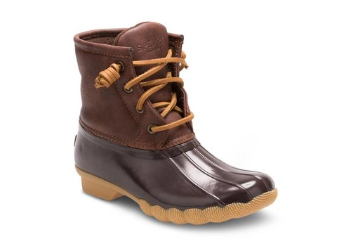 Sperry Kids Sperry Topsider Saltwater Boot Youth Brown