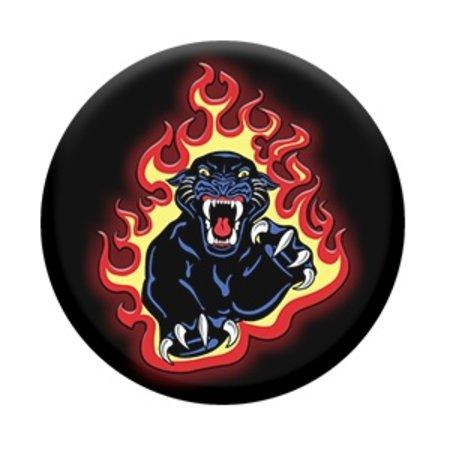 Panther Flames Pop Socket
