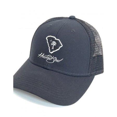 Hooked Soul Carolina Hat Black