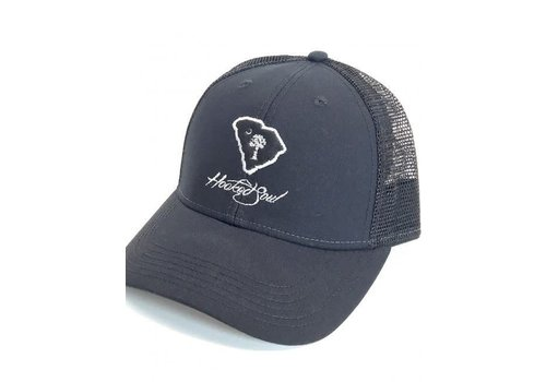 Hooked Soul Hooked Soul Carolina Hat Black