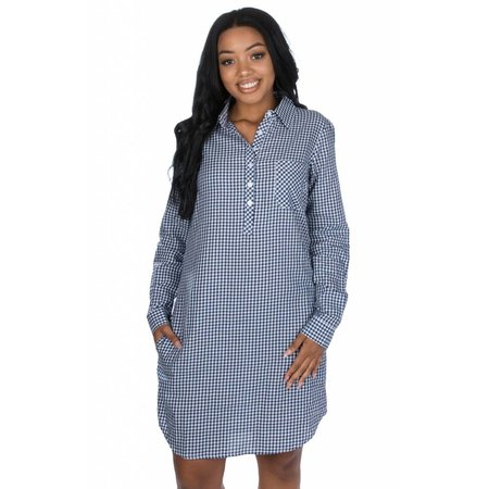 Lauren James The Dakota Dress Gingham