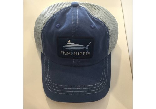Fish Hippie Fish Hippie Lines Out Hat True Blue