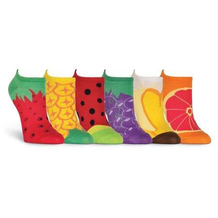 Women's Fruit 6 Pair Pack Socks