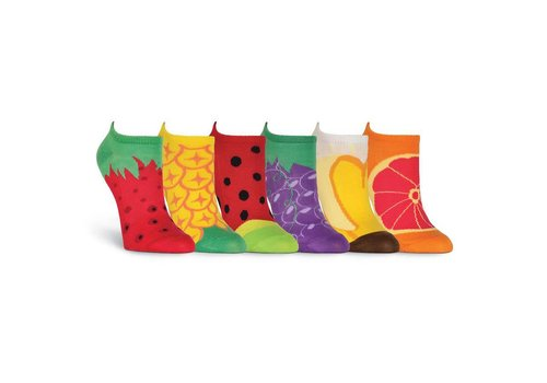 K.Bell Women's Fruit 6 Pair Pack Socks