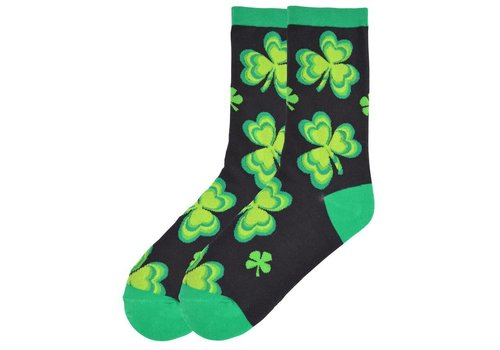 K.Bell Women's Green Shamrocks Black