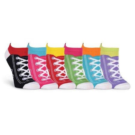 Women's Sneaker Sock No Show 6 Pair Pack Socks