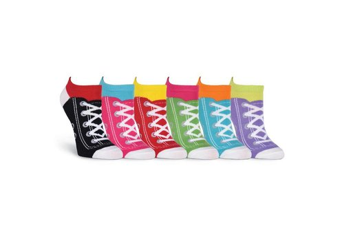 K.Bell Women's Sneaker Sock No Show 6 Pair Pack Socks