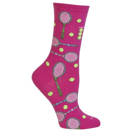 Women's Tennis Sock Dark Pink