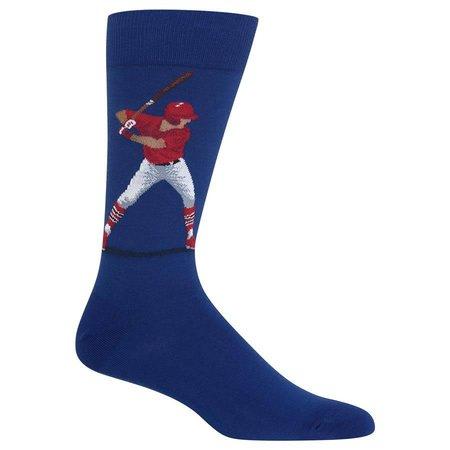 Men's Baseball Batter Sock Blue