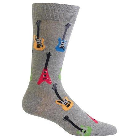 Men's Electric Guitars Sock Grey