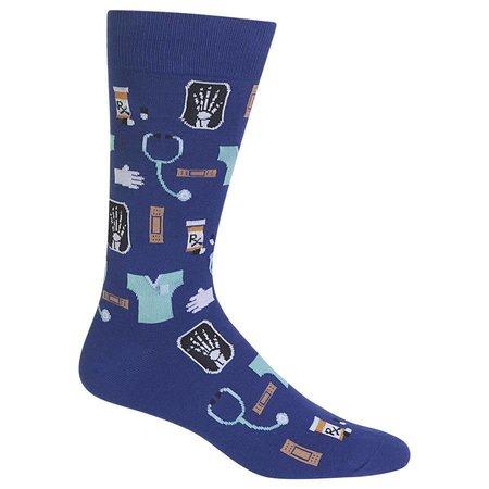 Men's Medical Sock Dark Blue