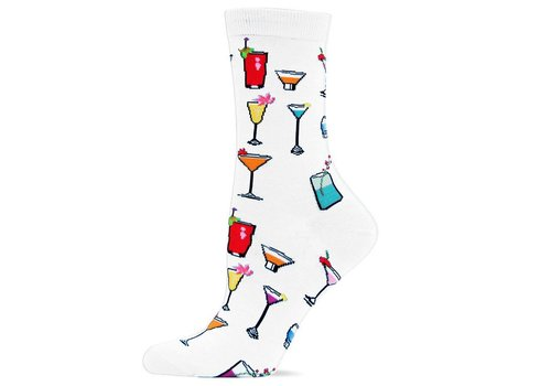 HOT SOX Women's Originals Tropical Drinks Trouser Sock