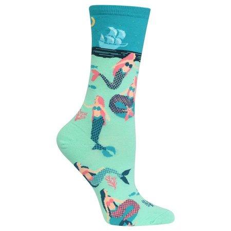 Women's Mermaids Sock Green