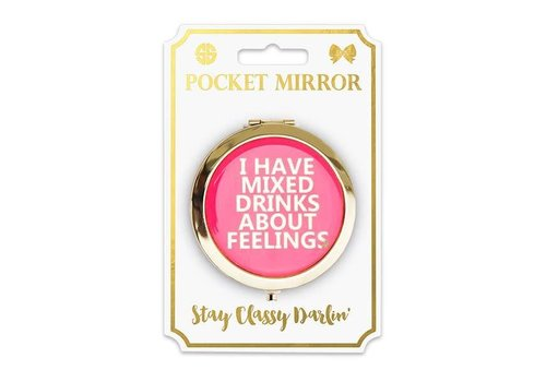 Simply Southern Simply Southern Phone Pocket Mirror Feelings