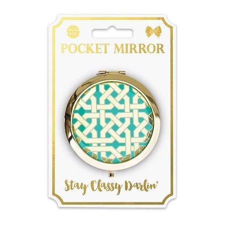 Phone Pocket Mirror Geo