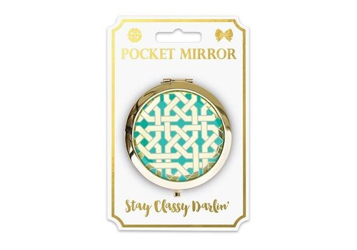 Simply Southern Simply Southern Phone Pocket Mirror Geo