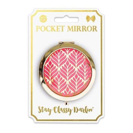 Phone Pocket Mirror Leaf