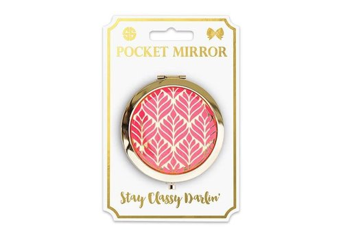 Simply Southern Simply Southern Phone Pocket Mirror Leaf